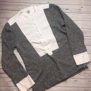 [J. CREW] Popover Sweater Blouse